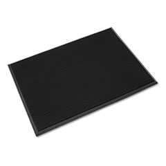 Crown Mat-A-Dor Entrance/Scraper Mat, Rubber, 24 x 32, Black