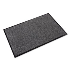 Crown Walk-A-Way Indoor Wiper Mat, Olefin, 36 x 60, Gray