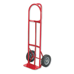 Safco® Two-Wheel Steel Hand Truck, 500 lb Capacity, 18w x 47h, Red