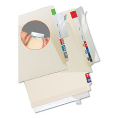 Tabbies® Self-Adhesive Label/File Folder Protector