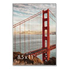 Universal® Clear Box Frame, Plastic, 8 1/2 x 11 Insert, Clear