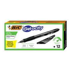 BIC® Gel-ocity(TM) Retractable Gel