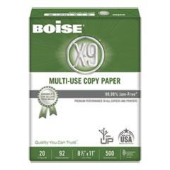 X-9 Multi-Use Copy Paper, 92 Bright, 20lb, 8.5 x 11, White, 500 Sheets/Ream, 10 Reams/Carton