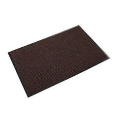 Crown Needle Rib Wipe and Scrape Mat, Polypropylene, 36 x 60, Brown