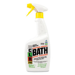 CLR® PRO Bath Daily Cleaner, Light Lavender Scent, 32 oz Pump Spray, 6/Carton