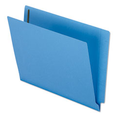 PFXH10U13BL - Reinforced End Tab Expansion Folder, Two Fasteners, Letter, Blue, 50/Box
