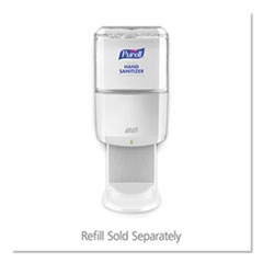 ES8 Touch Free Hand Sanitizer Dispenser, Plastic, 1200 mL, White