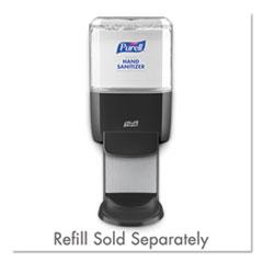 PURELL® Push-Style Hand Sanitizer Dispenser, 1,200 mL, 5.25 x 8.56 x 12.13, Graphite