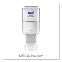 "PURELL® ES6 Touch Free Hand Sanitizer Dispenser, 1200 mL, 5.25"" x 8.56"" x 12.13"", White"