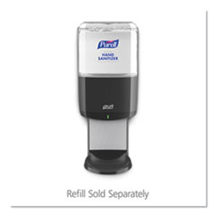"PURELL® ES6 Touch Free Hand Sanitizer Dispenser, 1200 mL, 5.25"" x 8.56"" x 12.13"", Graphite"