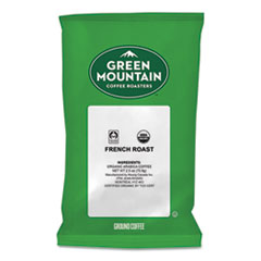 Green Mountain Coffee® French Roast Coffee Fraction Packs, 2.2oz, 50/Carton
