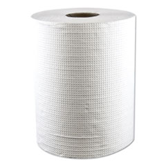 "Morcon Paper Hardwound Roll Towels, Paper, White, 7.8"" x 600 ft, 12 Rolls/Carton"