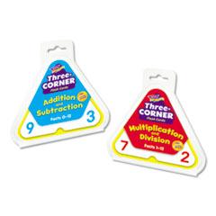 TREND® Three-Corner Flash Cards