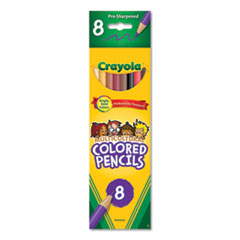 Crayola® Multicultural Eight-Color Pencil Pack Thumbnail