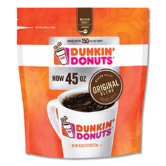 Dunkin Donuts® Original Blend Coffee, 45 oz Bag