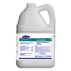 Diversey™ Morning Mist Neutral Disinfectant Cleaner, Fresh Scent, 1 gal Bottle