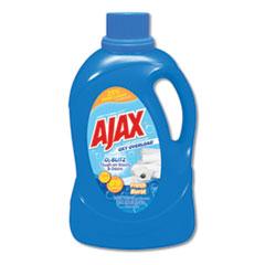 Ajax® Laundry Detergent Liquid, Oxy Overload, Fresh Burst Scent, 89 Loads, 134 oz Bottle, 4/Carton