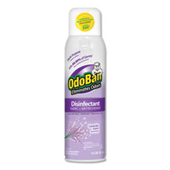 OdoBan® Odor Eliminator and Disinfectant, Lavender, 14.6 oz, 12/Carton
