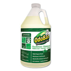 OdoBan® Concentrated Odor Eliminator and Disinfectant, Eucalyptus, 1 gal Bottle