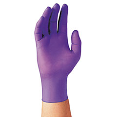 Kimberly-Clark Professional* PURPLE NITRILE Exam Gloves, 242 mm Length, Large, Purple, 100/Box