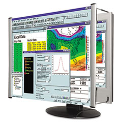 """LCD Monitor Magnifier Filter, Fits 19""""-20"""" Widescreen LCD, 16:10 Aspect Ratio"""