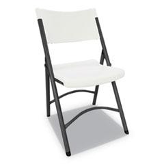 Alera® Premium Molded Resin Folding Chair