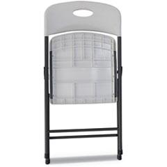 Alera® Molded Resin Folding Chair