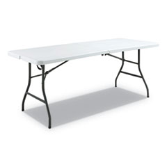 Alera® Fold-in-Half Resin Folding Table Thumbnail