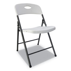 Alera® Molded Resin Folding Chair Thumbnail