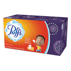 White Facial Tissue, 2-Ply, 180 Sheets/Box