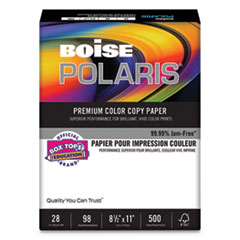CASMP2241IY Ivory 8-1//2 x 11 500 Sheets Boise Fireworx Colored Paper