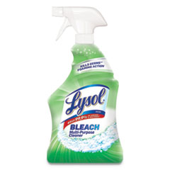 LYSOL® Brand Multi-Purpose Cleaner with Bleach, 32 oz Spray Bottle, 12/Carton