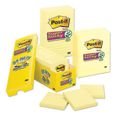 Post-it® Notes Super Sticky Pads in Canary Yellow Thumbnail