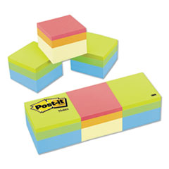 Mini Cubes, 2 X 2, Canary Yellow/green Wave, 400-Sheet,