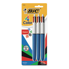 BIC® 4-Color™ Retractable Ballpoint Pen Thumbnail