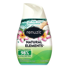 Renuzit® Adjustables Air Freshener, Pure Ocean Breeze, 7 oz Cone, 12/Carton