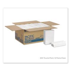 Georgia Pacific® Professional Pacific Blue Select C-Fold Paper Towel, 10 1/10 x 13 2/5,White,200/PK, 12 PK/CT