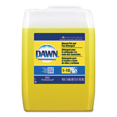 Dawn® Professional Manual Pot/Pan Dish Detergent, Lemon Scent, Liquid, 5 gal Pail