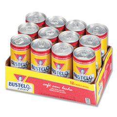 BUSTELO cool® Ready to Drink Espresso Beverage, Classic, 8oz Can, 12/Pack