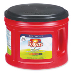 Folgers® Coffee, Half Caff, 25.4 oz Canister