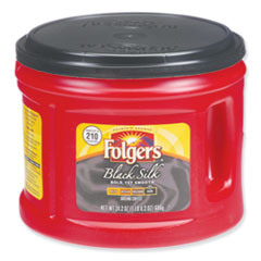 Folgers® Coffee, Black Silk, 24.2 oz Canister