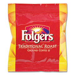 Folgers® Ground Coffee Fraction Packs, Traditional Roast, 2oz, 42/Carton
