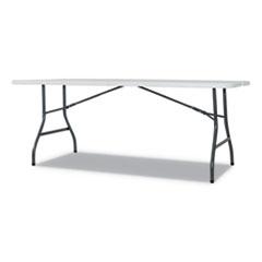 Alera® Fold-in-Half Resin Folding Table