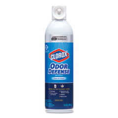 Clorox® Commercial Solutions Odor Defense, Clean Air Scent, 14 oz Aerosol