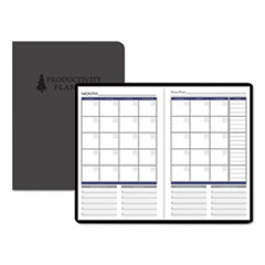 House of Doolittle™ Productivity and Goal Non-Dated Planner, 9 1/4 x 6 1/4, Blue