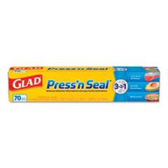 Press'n Seal Food Plastic Wrap, 70 Square Foot Roll,
