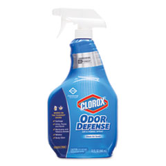 Commercial Solutions Odor Defense Air/Fabric Spray, Clean Air Scent, 32 oz Bottle