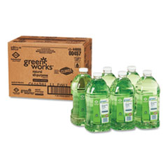 Green Works® All-Purpose and Multi-Surface Cleaner, Original, 64 oz Refill, 6/Carton