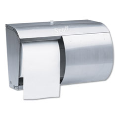 Scott® Pro Coreless SRB Tissue Dispenser, 7 1/10 x 10 1/10 x 6 2/5, Stainless Steel