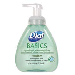 Dial® Professional Basics Foaming Hand Soap, Honeysuckle, 15.2 oz Pump Bottle